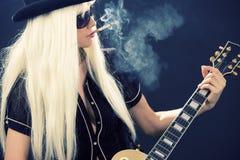 Rock babe Stock Photo