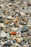 Rock background. Many small colorful stones good for background use Royalty Free Stock Image