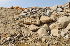 Rock background. Stock Image
