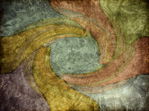 Rock Background Texture with Color Swirl. A modern-art style of background texture with swirling colors Royalty Free Stock Photo