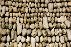 Rock background. Wall Rock stone background in garden Royalty Free Stock Photo