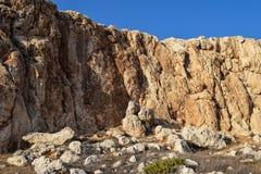 Rock, Badlands, Bedrock, Outcrop stock photo