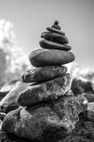 Rock balancing Royalty Free Stock Image
