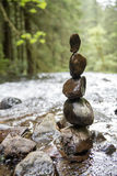Rock balancing Stock Photography