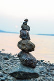 Rock Balancing Royalty Free Stock Image