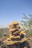 Rock Balancing Royalty Free Stock Photography
