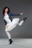 Rock ballet dancer Royalty Free Stock Images
