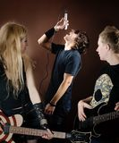 Rock band Royalty Free Stock Photo