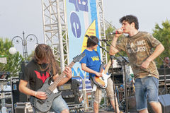 Rock Band Royalty Free Stock Photo