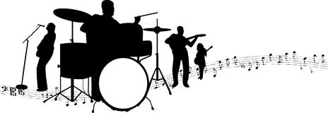 Rock band Royalty Free Stock Photography