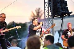19/05/2018 Panagiurishte, Bulgaria. Rock band. Royalty Free Stock Images