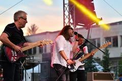19/05/2018 Panagiurishte, Bulgaria. Rock band. Stock Photos