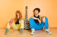 Rock band leisure time Stock Photo