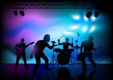 Rock Band Performance Stock Photos