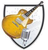 Rock-Band Sign stock illustration