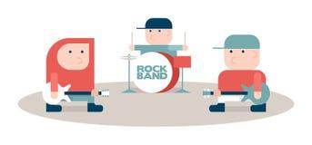 Rock band Stock Photos