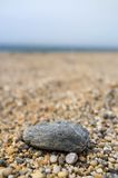 Rock on beach Royalty Free Stock Images
