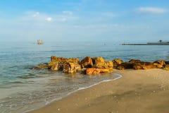 Rock beach Stock Photography