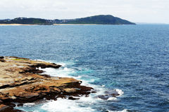 Rock Beach @ Terrigal, Australia Stock Photos