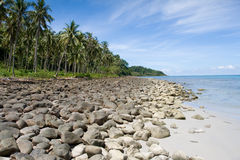 Rock Beach - Thailand Stock Photo