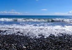 Rock beach on tropical Maui, Hawaii Royalty Free Stock Image