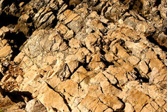 sea rock wall background Stock Photography