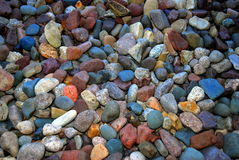 Rock bed Royalty Free Stock Image
