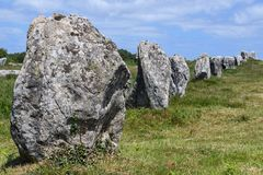 Rock, Bedrock, Grass, Megalith royalty free stock photography