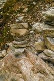 Rock, Bedrock, Stone Wall, Wall Stock Photo