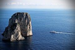 Rock_boat Immagini Stock