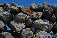 Rock, Boulder, Bedrock, Sky stock image