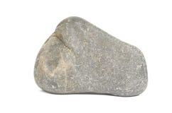 Rock Boulder On White Royalty Free Stock Image
