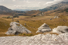 Rock boulders at Castle Hill, New Zealand Stock Photography