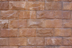 Rock brick wall for background Stock Photography