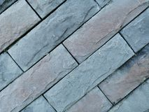 Rock brick on wall for background. Dav rock brick wall background surface old hard grey royalty free stock photos