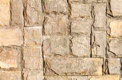 Rock brick wall Stock Image