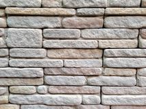Rock Bricks Wall Background Royalty Free Stock Images
