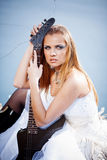 Rock bride Stock Photos