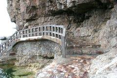 Rock bridge. Stock Photography