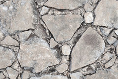Rock broken texture Royalty Free Stock Photography