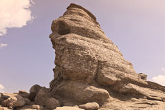 Rock in the Bucegi mountains  Royalty Free Stock Photography