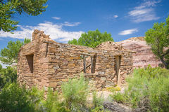 Rock Cabin in Wilderness Royalty Free Stock Photography