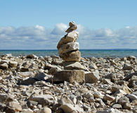 Rock Cairn Stock Images
