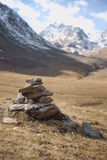Rock cairn Royalty Free Stock Photography