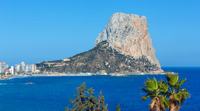 Rock of Calpe, Spain. Stock Photography