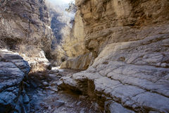 Rock canyon Royalty Free Stock Images