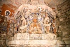 Rock Carving Baodingshan Dazu China Royalty Free Stock Photography