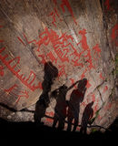 Rock carvings Royalty Free Stock Images