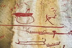 Rock Carvings Stock Photography