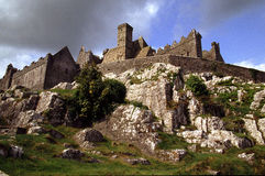 Rock of Cashel. View from the Bishop's Walk, Rep. of Ireland Royalty Free Stock Photos